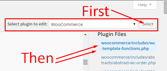 storewide notice text in woocommerce