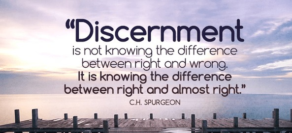 the discipline of discernment